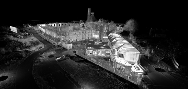3D point cloud survey of Springfield Brewery