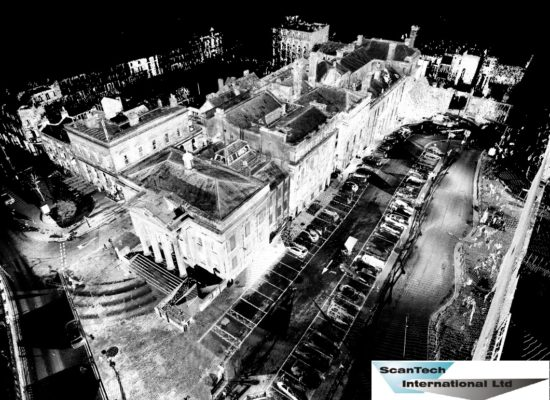 3D Pointcloud of Oldham Town Hall by Scantech International
