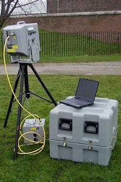 Cyrax laser scanner