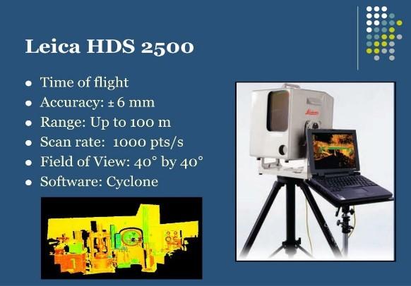 Leica HDS 2500 3D laser scanner